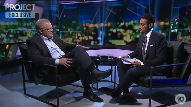 Scott Morrison's Project interview saw the politician panned on social media