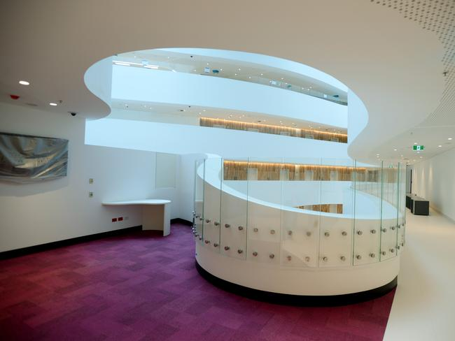 Inside the new Peter Mac Hospital in Melbourne. Picture: Kris Reichl