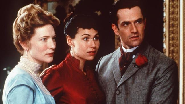 Everett in An Ideal Husband with Cate Blanchett and Minnie Driver, adapted from Oscar Wilde's play
