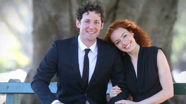Emma Watkins her and Lachlan Gillespie started as best friends and still are despite their marriage breakup. Pic Jamie Hanson