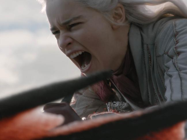 Dany lost the plot at King's Landing. Picture: HBO via AP