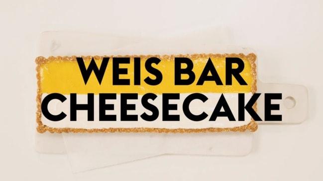 Weis Bar Cheesecake