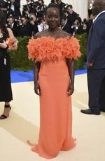 "Lupita Nyong'o attends the ""Rei Kawakubo/Comme des Garcons: Art Of The In-Between"" Costume Institute Gala at Metropolitan Museum of Art on May 1, 2017 in New York City. Picture: AP"