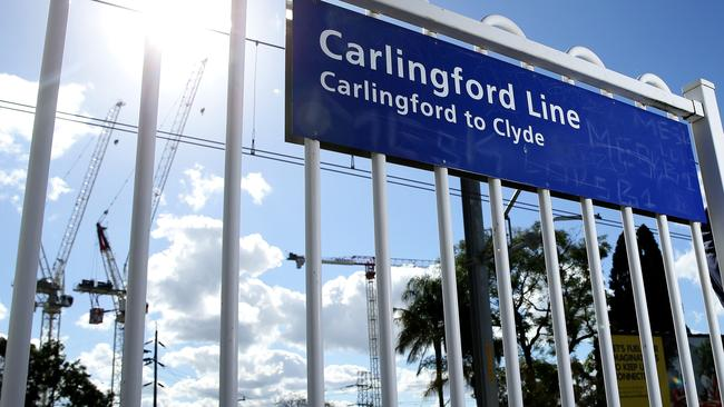 Sydney Trains' T6 Carlingford line will close in January.