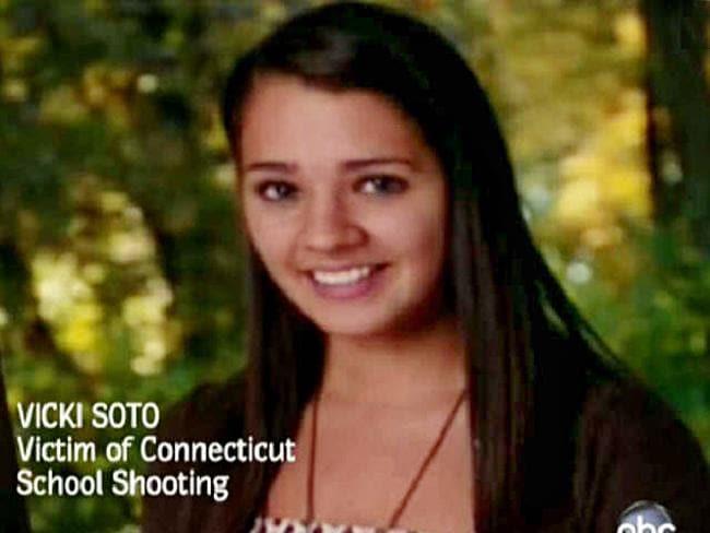 Teacher Vicki Soto was shot dead in the Sandy Hook massacre in 2012. Picture: ABCNews.com