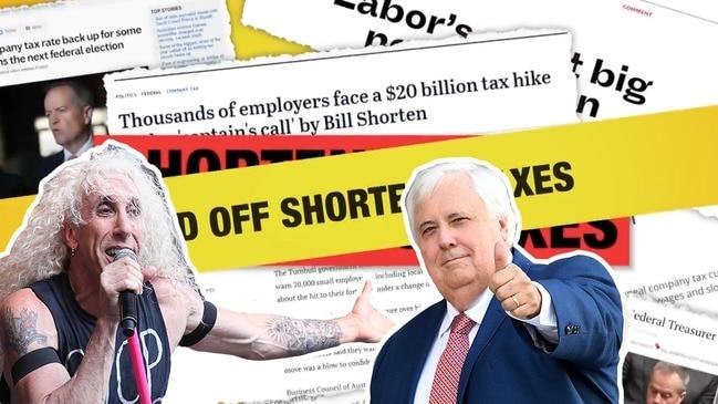 Clive Palmer's United Australia Party ads