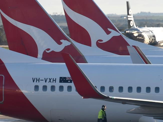 Qantas is understood to get about 90 per cent of its ancillary revenue through its frequent flyer program. Picture: Nicole Garmston