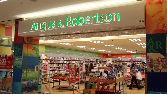 The former Angus & Robertson books store at Blacktown in Sydney.