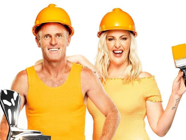 Eva and her partner Norm appeared on Channel 9's reality TV show The Block.
