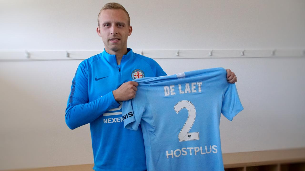 Ritchie De Laet has joined Melbourne City on loan