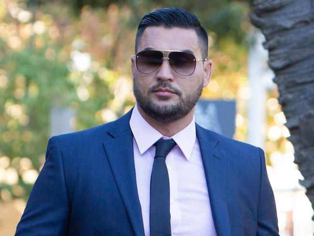 Mehajer was in court again today, on his birthday. Picture: Paul Braven/AAP