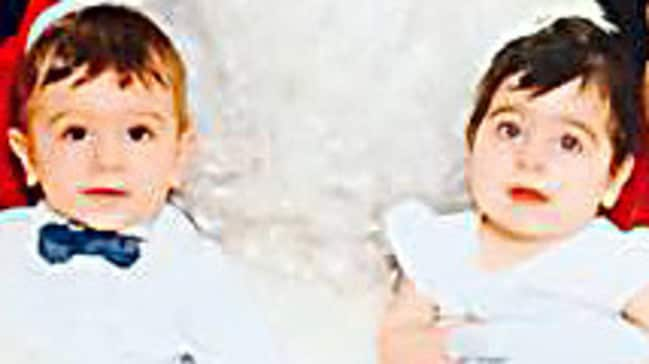 Sydney twins Robbie and Charli Manago died after being pulled unconscious from their backyard pool. Picture: AAP/Facebook