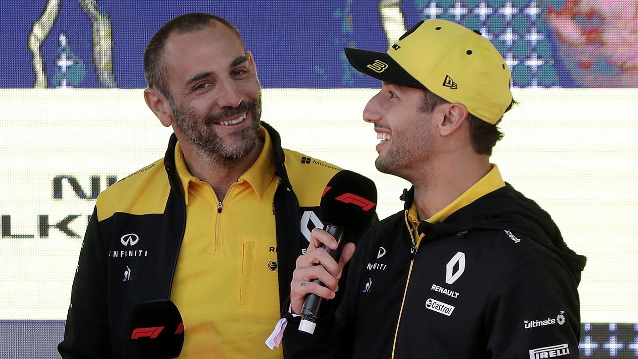 Abiteboul says Renault will need Ricciardo's experience until the end of his contract.