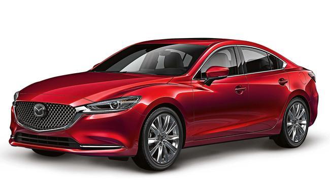 Like the car, love the colour: the Mazda 6 Tourer Sport.