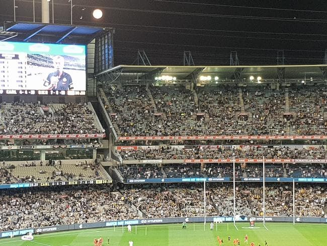 The full moon proved to be an ominous warning for Carlton