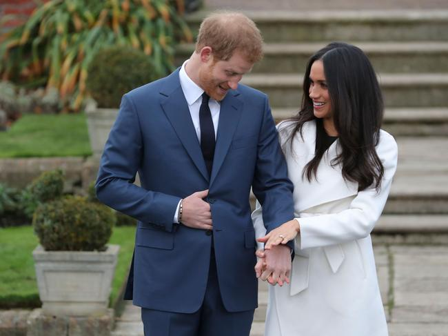Harry and Meghan have reportedly spent the past week out of the UK on a private holiday. Picture: AFP/Daniel Leal-Olivas