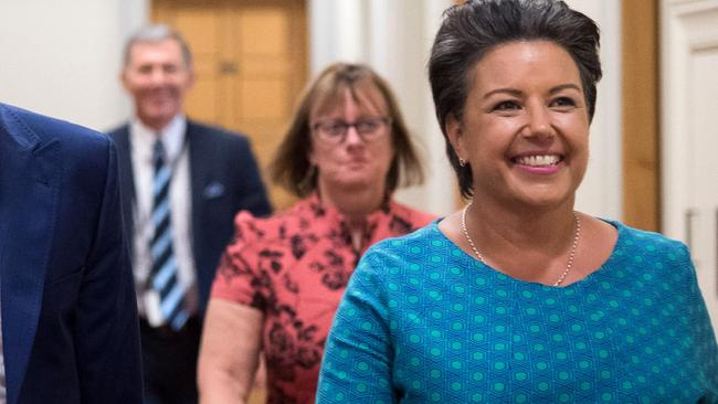 Opposition deputy leader Paula Bennett has criticised the PM and her staff's handling of the allegations. Picture: Mark Tantrum/AFP Photo