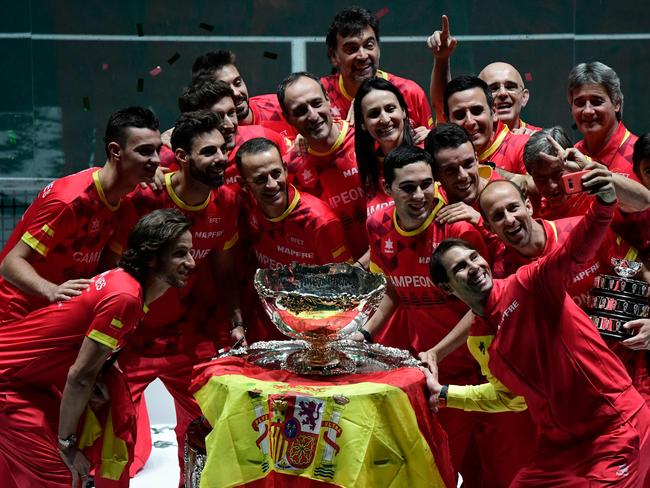 Spain defeated Canada 2-0 in the Davis Cup final on the weekend.