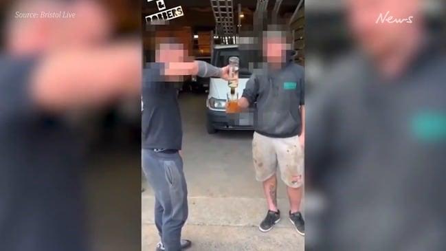 Death threats follow drinking video