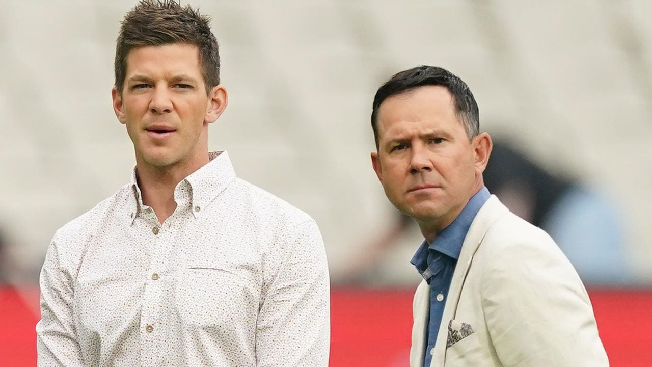 Ricky Ponting really is one of a kind.