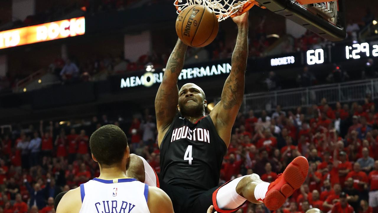 PJ Tucker dropped a play-off career-high.
