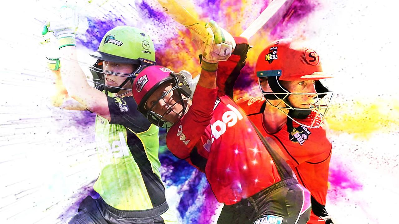 Rachael Haynes, Alyssa Healy and Elyse Villani are three players to watch in the WBBL this season.