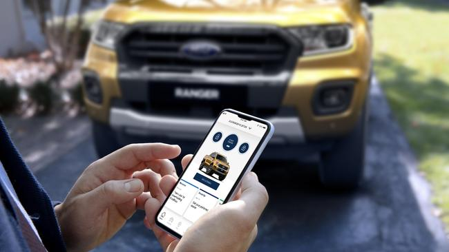 FordPass connectivity is on the way for the Ranger ite.
