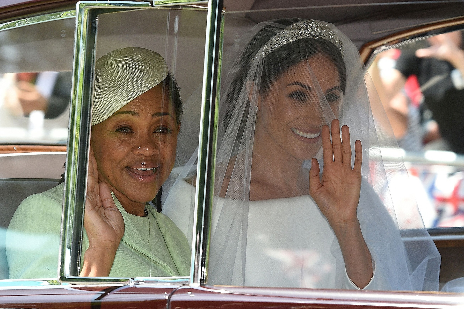 Meghan Markle's mother, Doria Ragland is the most emotional guest at the royal wedding