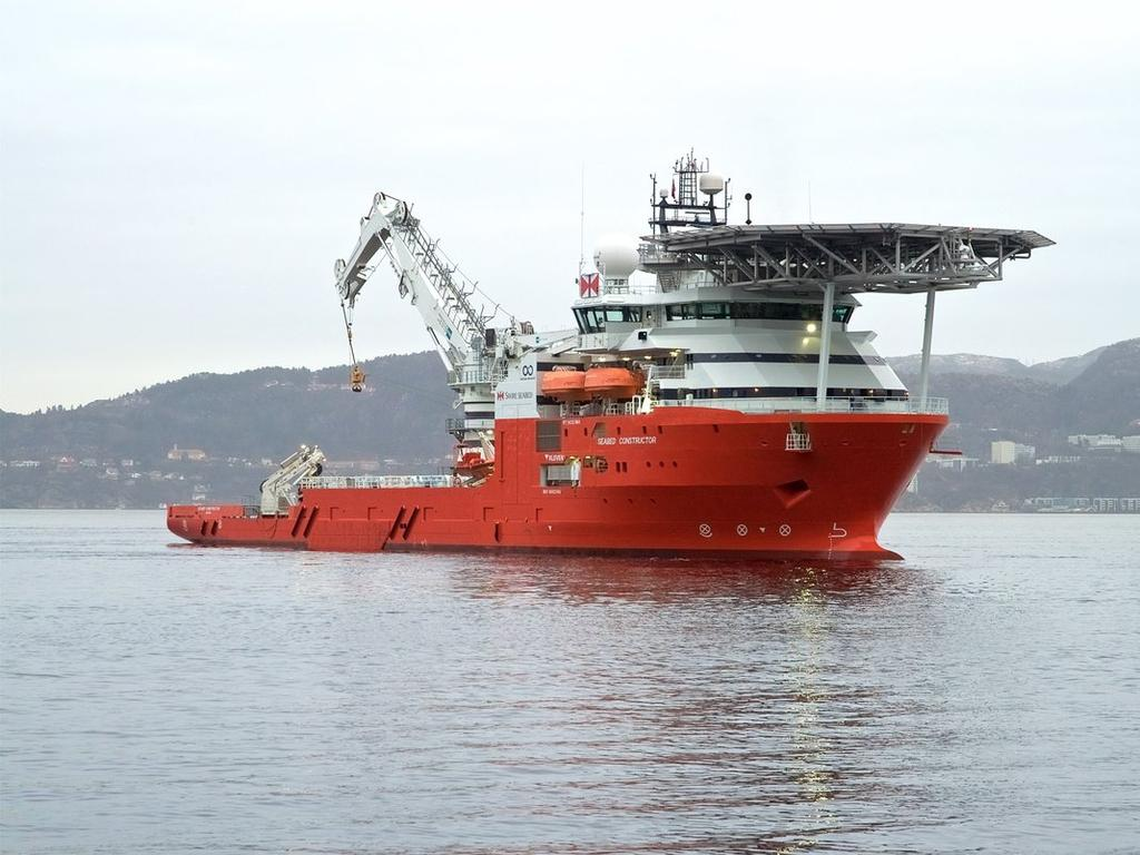 Ocean Infinity's Seabed Constructor is about to start searching for the MH370. Supplied