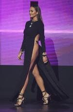 Model Chrissy Teigen walks onstage during the 2016 American Music Awards at Microsoft Theater on November 20, 2016 in Los Angeles, California. Picture: Getty