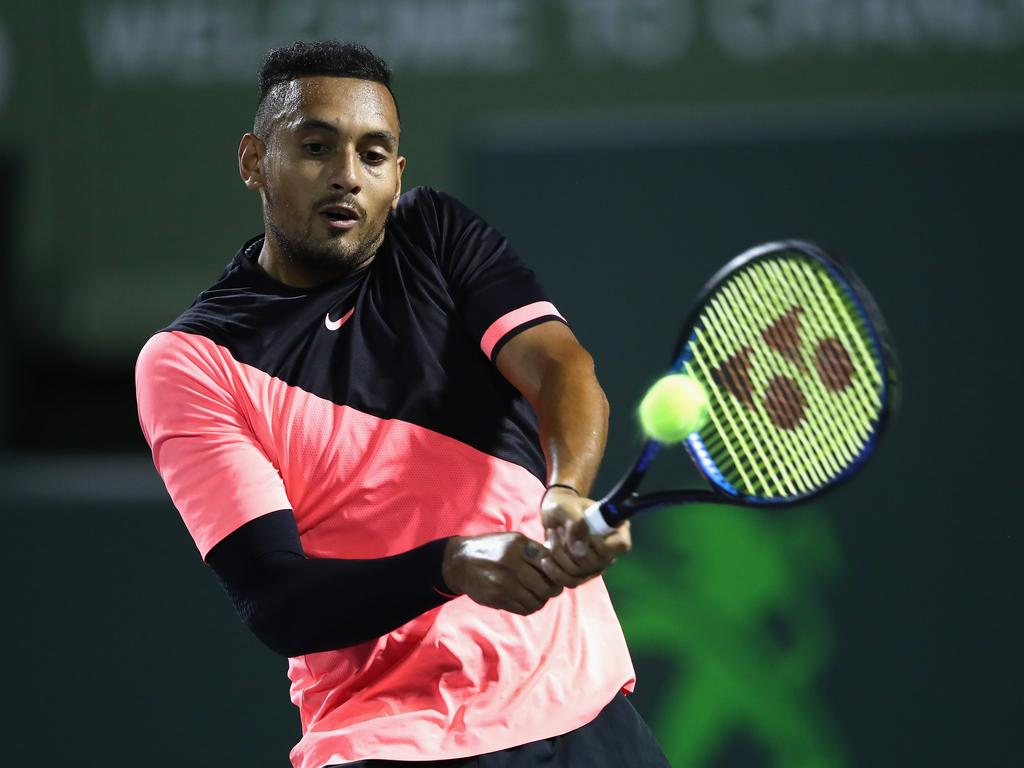 Nick Kyrgios has withdrawan from the 2018 French Open in a bid to protect his injured elbow.