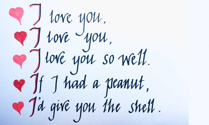 I love you so well Valentine's day poem