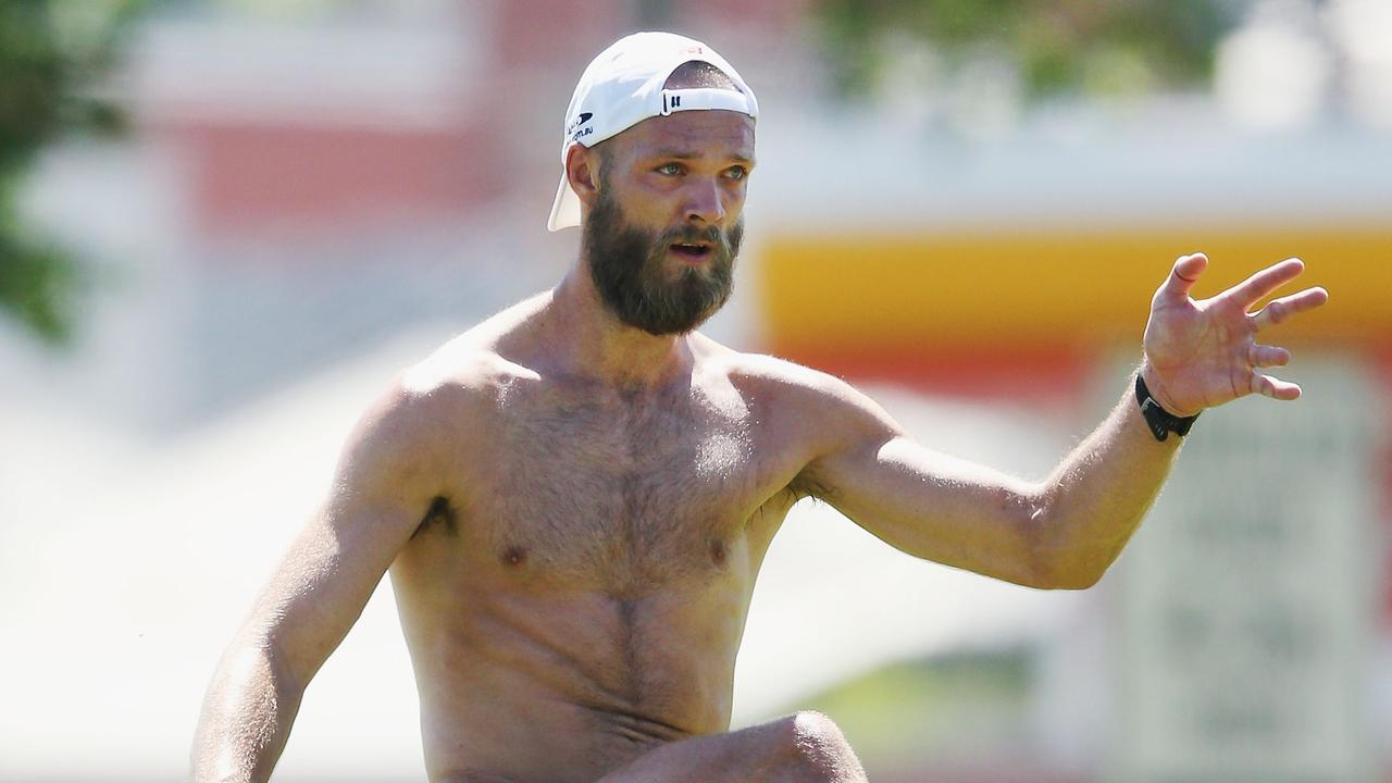 Melbourne star Max Gawn lost a lot of weight during last pre-season.