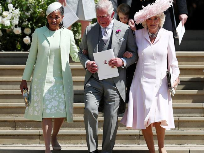 Ms Koenig believes Charles's obvious attention to Meghan's mum during the Royal wedding shows his softer side. Picture: Jane Barlow / AFP