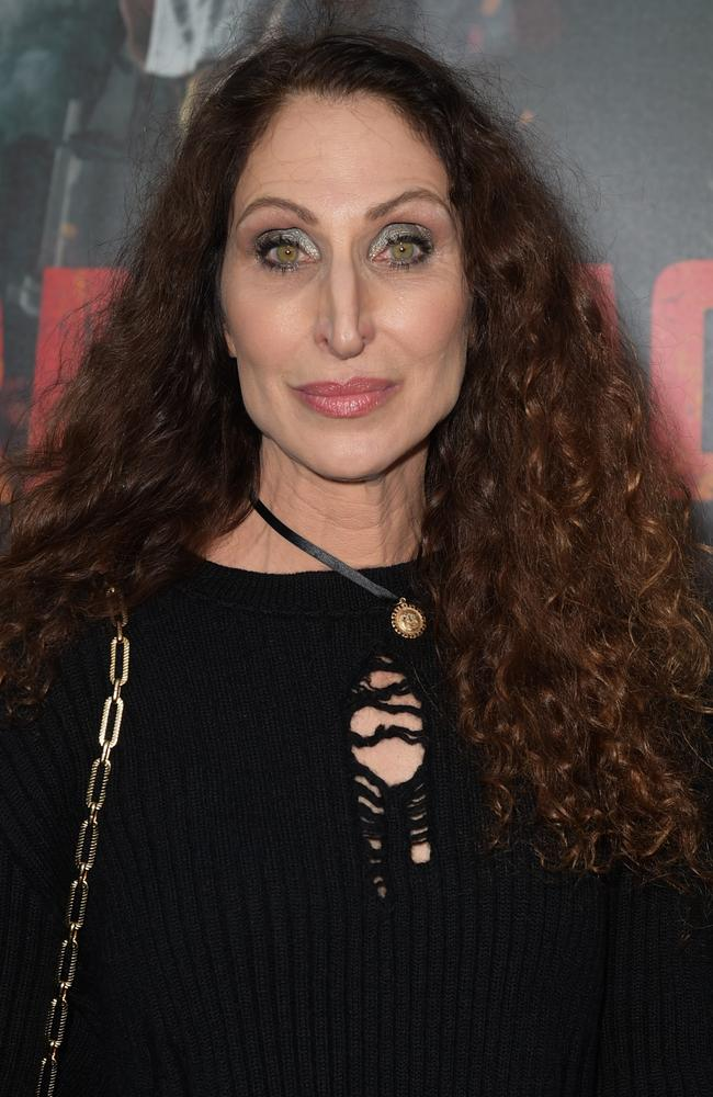 Bonnie Aarons at the premiere of Rampage.