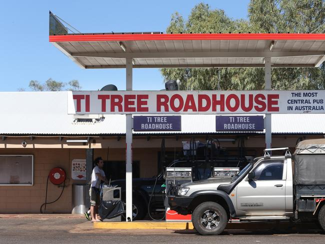 The Ti Tree Roadhouse was the last place Falconio and Lees stopped before his shooting death at the hands of Bradley Murdoch. Picture: Gary Ramage