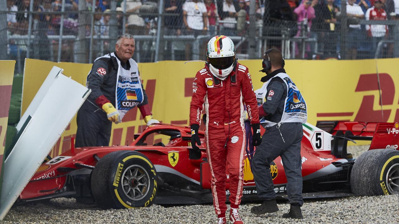 Ferrari's repeated errors have not just been made on the pit wall.