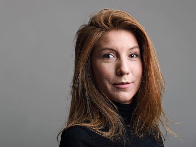 Journalist Kim Wall. Picture: AFP