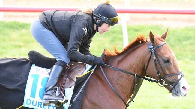 Duretto has been ruled out of the Melbourne Cup. Picture: AAP
