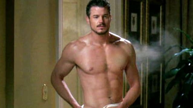 The star has disrobed on screen before — here he is in Ugly Betty — but never to this extent.