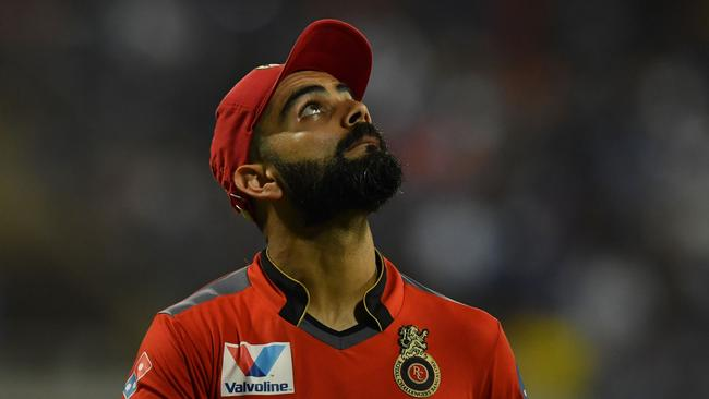 Karma for Kohli? Picture: AFP