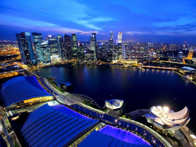 Singapore is perfect for a five-day trip.