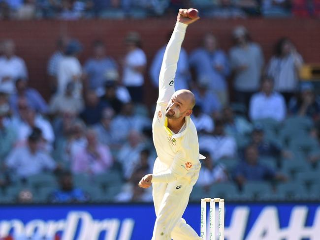 Nathan Lyon was suffocating the Indians.