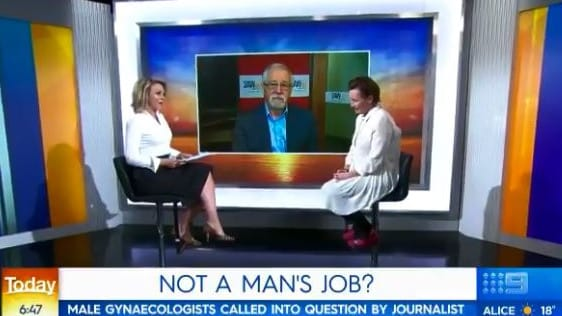 Georgie Gardner, Nikki Gemmell and radio presenter Neil Mitchell debated the issue on the Today show this morning.