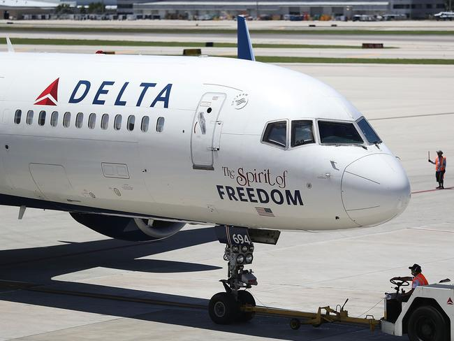 Not everyone is convinced by Delta's new boarding approach. Picture: Joe Raedle/Getty Images/AFP