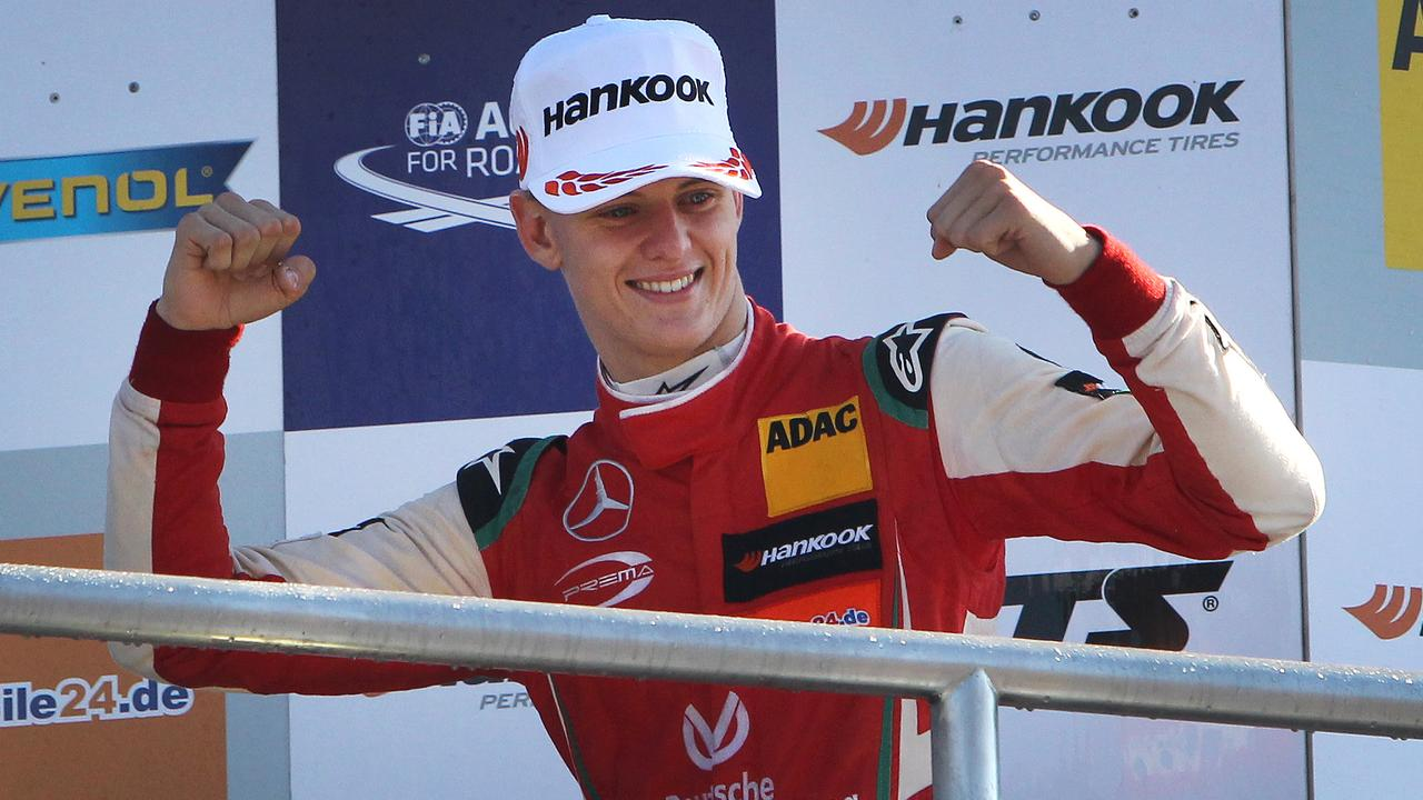 Mick Schumacher, son of seven-time Formula 1 world champion Michael, is following in his father's footsteps.