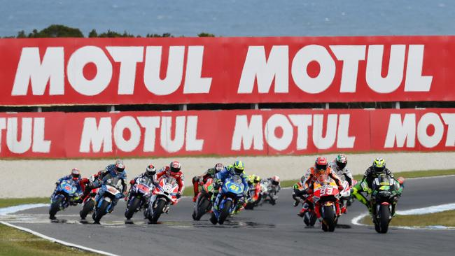 The provisional 2018 MotoGP calendar has been released. Pic: Mark Stewart