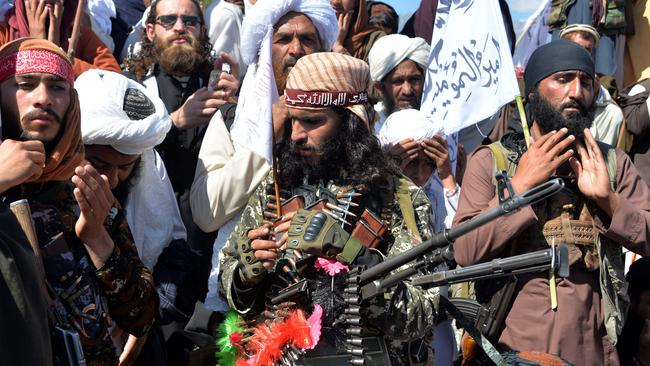 Taliban violence has surged in recent months. Picture: Noorullah Shirzada/AFP