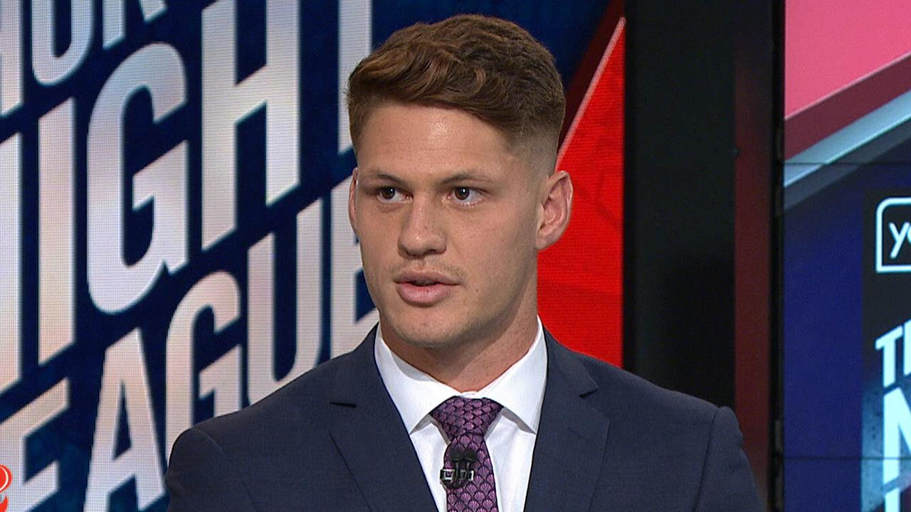Kalyn Ponga responds to the Knights crisis on Fox League.