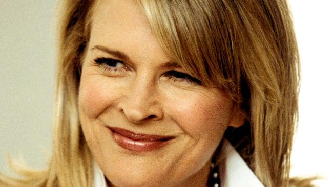 Brief connection ... actress Candice Bergen.